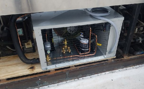 Commercial HVAC System After