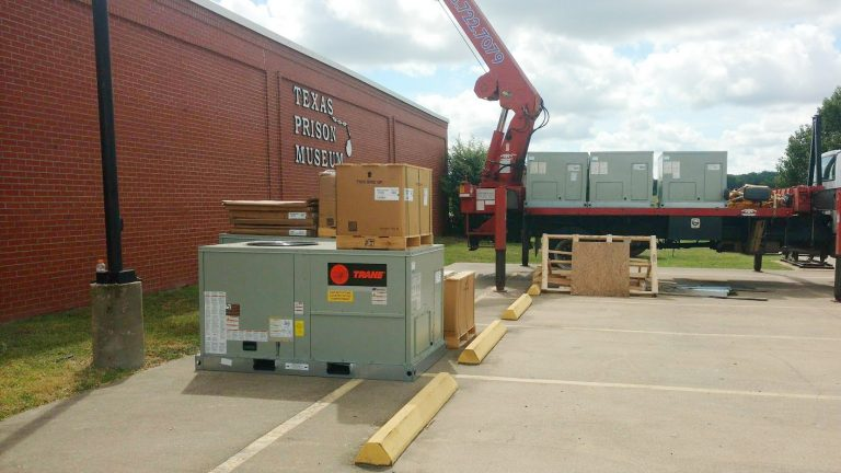Installation of a Trane HVAC System at the Texas Prison Museum