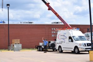 Commercial HVAC Installation at the Texas Prison Museum