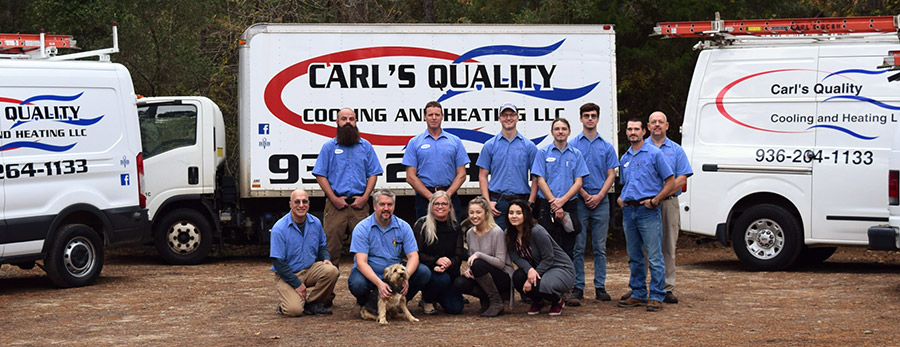Carl's Quality HVAC Team
