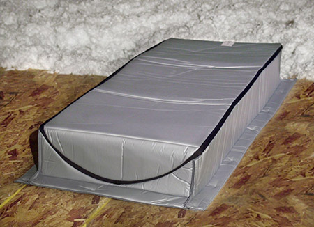 Insulated Attic Tent