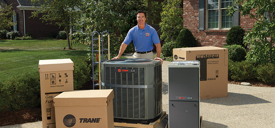 Trane Comfort Specialist Dealer with Trane AC Units